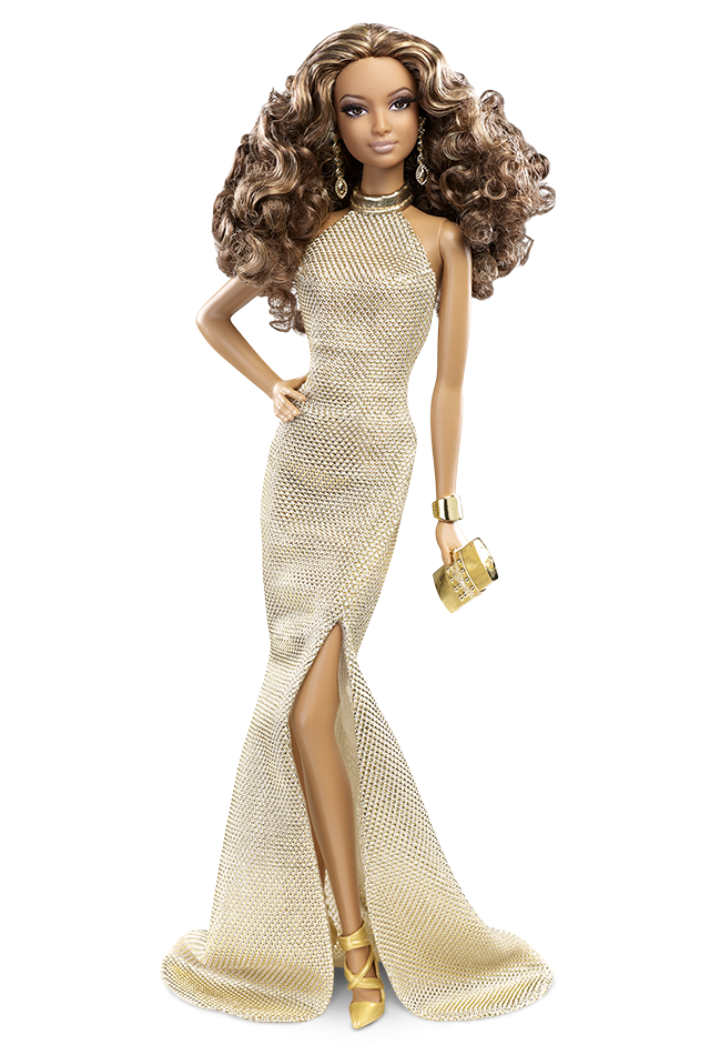 The Barbie Look™ Collection - Gold Gown