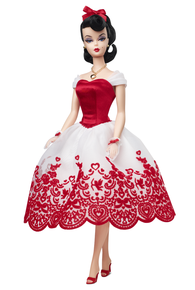 Holiday Hostess Cupid's Kisses™ Barbie® Doll