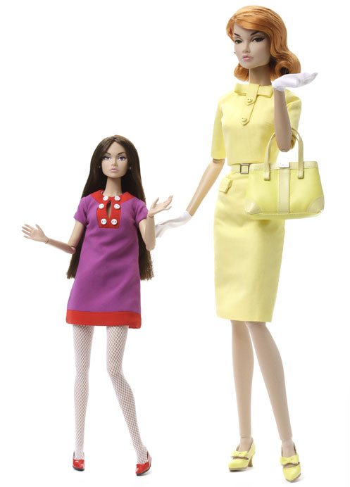"Poppy Parker 12"" & 16"" Comparative"
