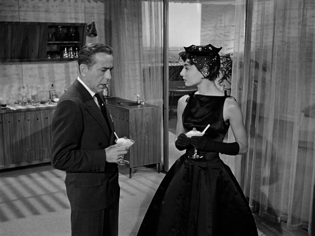 Audrey Hepburn in Sabrina little black dress