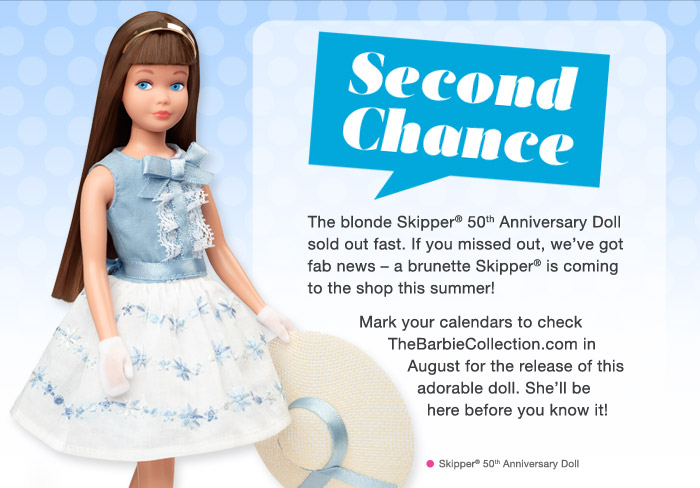 Skipper 50th anniversary brunette