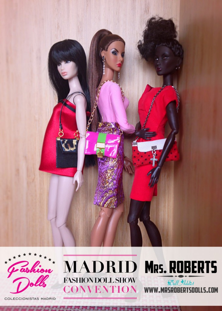 Sorteo Mrs. Roberts bags y Club de Coleccionistas de Fashion Dolls en Madrid