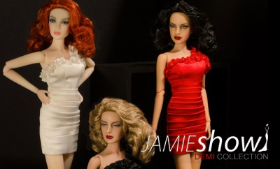 JAMIEshow DEMI-COUTURE collection 12″ dolls